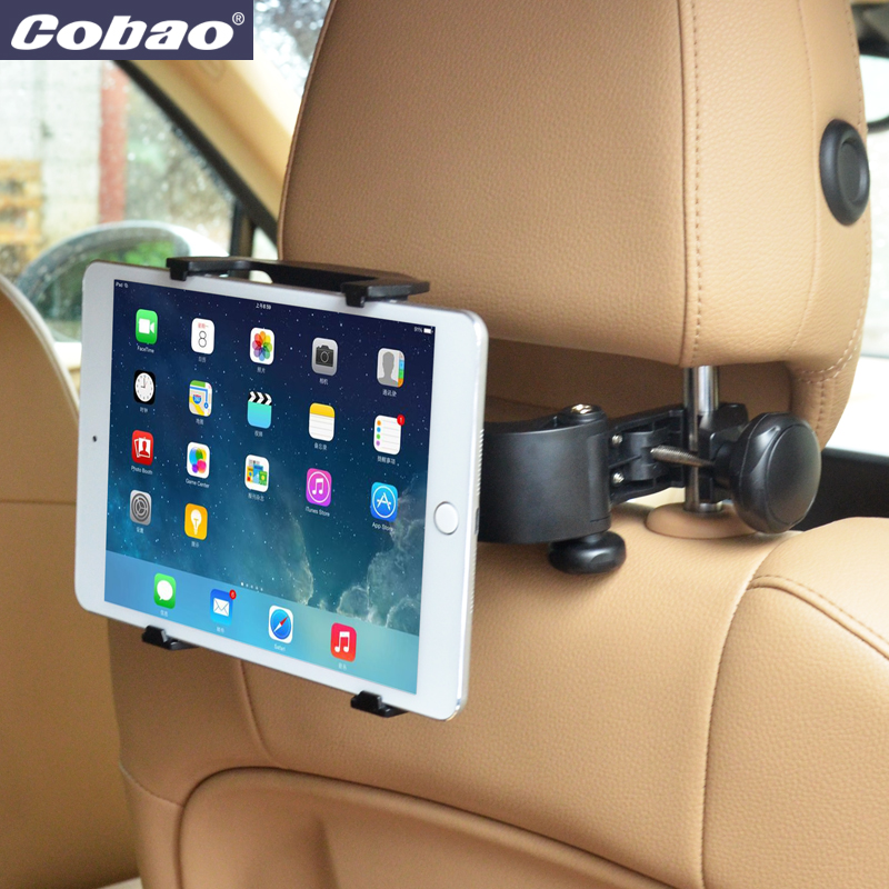 Universal 7 8 inch tablet PC stand good quality car backseat tablet holder for car headrest suitable for Ipad mini 1 2 3 4(China (Mainland))
