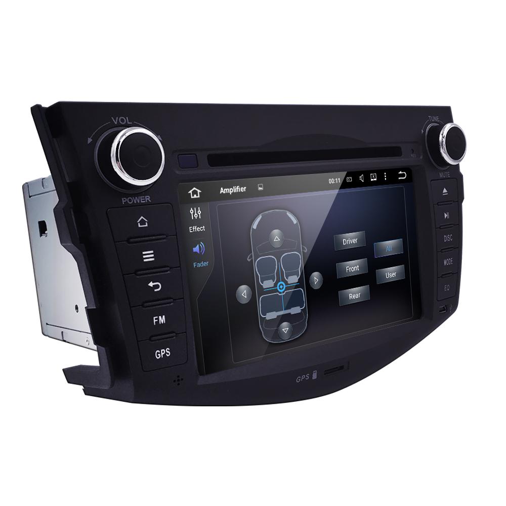 7'' Android 5.1 Quad Core 2 Din Car Stereo DVD Player For Toyota RAV4 Auto GPS Bluetooth 1080P Video Wifi Autoradio DBA Optional(China (Mainland))