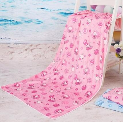 5 Colors 70*140CM Mini absorbent bath towel microfiber brand name Beach towels For Kid adults baby bathroom Home Textile(China (Mainland))