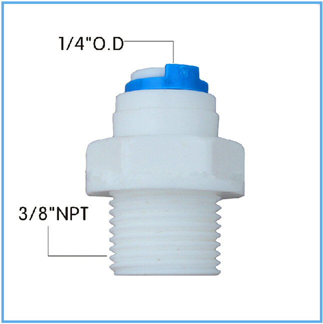 3/8 NPT Male Thread Straight Quick Connect Fitting 1/4 OD Hose connection 10PCS Free Shipping<br><br>Aliexpress
