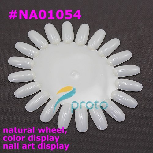 10pcs Oval Nail Art Display Wheel Nail Polish Display Color Chart Display Nail Tools F0033XXX