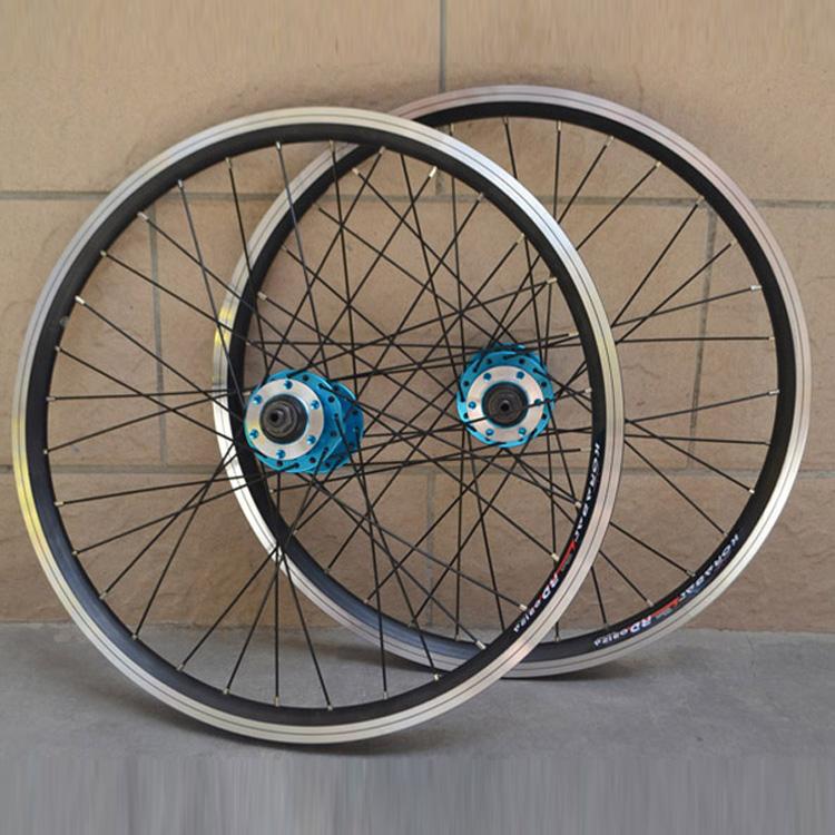 20 Inches 406 Folding Bike Wheelset V Disc Brake Wheel Bicycle Clincher Rim Parts Free shipping(China (Mainland))