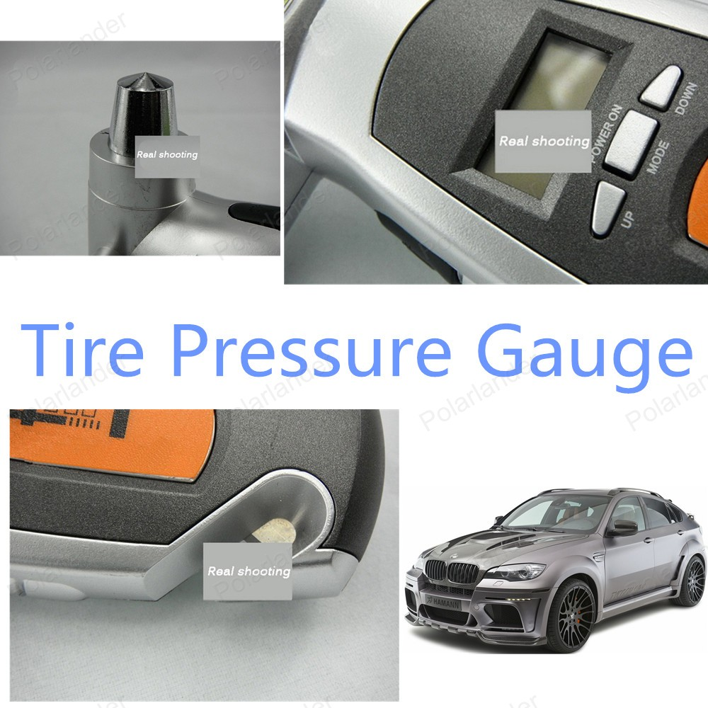 Top Quality Car tire pressure gauge car tire gauge Hot sale free shipping LCD display(China (Mainland))