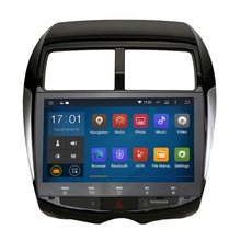 Quad Core Pure Android 4.4.4 Stereo for Mitsubishi ASX RVR Outlander Sport Citroen C4 Aircross Puegeot 4008 GPS Radio 3G 16GB