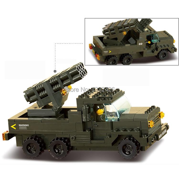Simple box Sluban 6800 Building Blocks Land Battle Forces Army Troops ...
