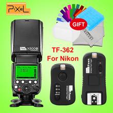 Buy Pixel X800N Standard GN60 Wireless i-TTL HSS Flash Speedlite + Pixel TF-362 Flash Trigger Nikon d7100 d3100 d5300 d7000 d90 Technology Co, Ltd Wholesale Store) for $110.88 in AliExpress store
