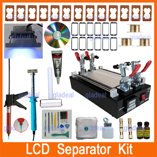 lcd screen separator machine
