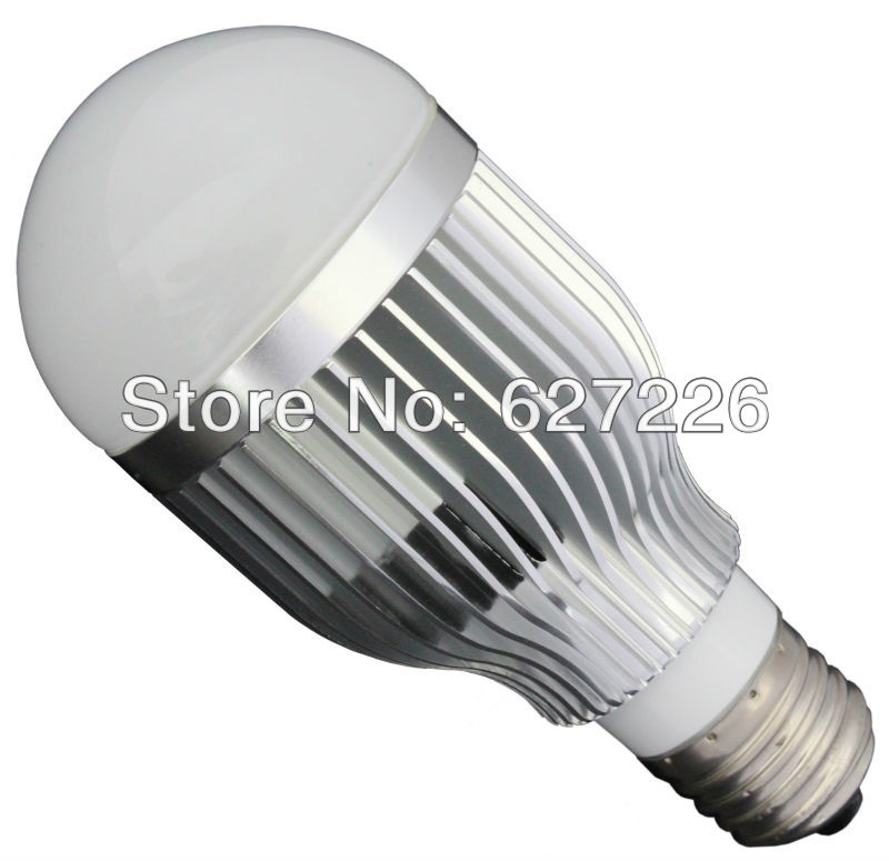 7W Samsung SMD 5630 Super Bright E27 LED Lamp,Dimmable LED Lamp,110V Led Bulb,220V Led Bulb,RoHS&CE Approve,Warranty 3 Years(China (Mainland))