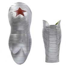 2015 New Winter Soldier Arm Captain America 2 Bucky Cosplay High Level Latex Man Hot Sale(China (Mainland))