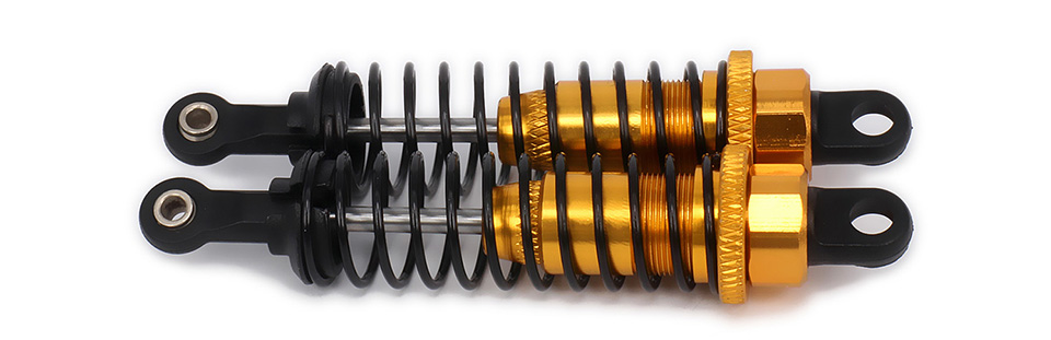 Oil Adjustable 70mm Alloy Aluminum Shock Absorber Damper For Rc Car 1/16 Buggy Truck Hpi Hsp Traxxas Losi Axial Tamiya Redcat