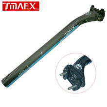 Buy Tmaex-Full Carbon Fiber Bicycle Seat Post MTB/Road Bike Parts Carbon Seat Post 3k Glossy 27.2/30.8 /31.6 *350MM Offset 25mm for $21.60 in AliExpress store