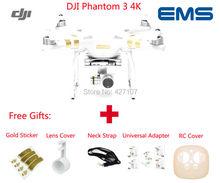 Fast Shipping DJI Phantom 3 4K Drone Quadcopter W/Camera WIFI Video Downlink FPV Via EMS