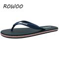 Hot Sale New 2016 Summer Rubber Shoes Fashion Flip Flops Men Sandals Male Flat Beach Slippers