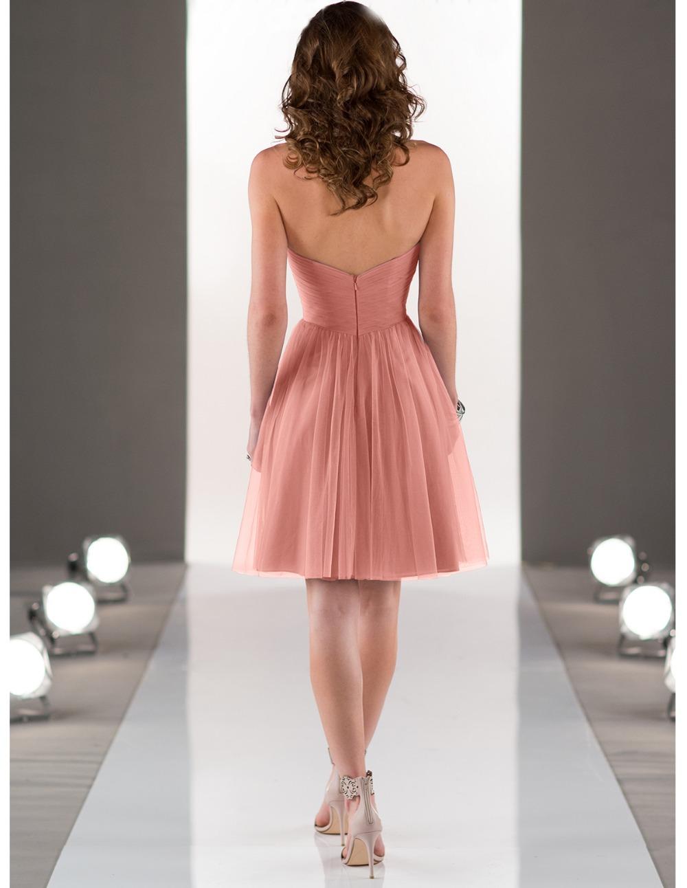robe demoiselle d honneur cheap coral colored bridesmaid dresses 2015 plus size beach wedding party dress