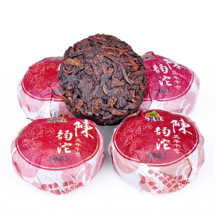 Dropshipping Chinese tea Five year dry position CHEN Yun Da Pu er ripe tea mini Tuo