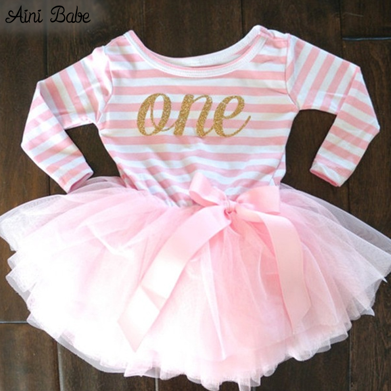 Baby Girl Dress Kids Dresses For Girls Wedding Clothes Bow Children Clothing Kids Clothes For 1 Year Girl Birthday Party Dress(China (Mainland))