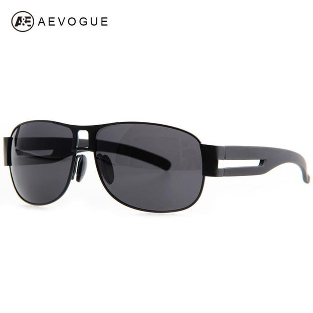 Aevogue марка дизайн поляризованные линзы спортивные sol солнцезащитные очки мужчины Al Mg сплава рамка солнцезащитные очки сверхлегкий синий покрытие UV400 AE0119
