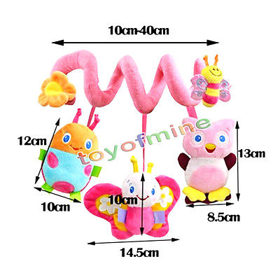 Infant Baby Around The Bed Stroller Toys Revolves Crib Toys Hanging Baby Rattles(China (Mainland))