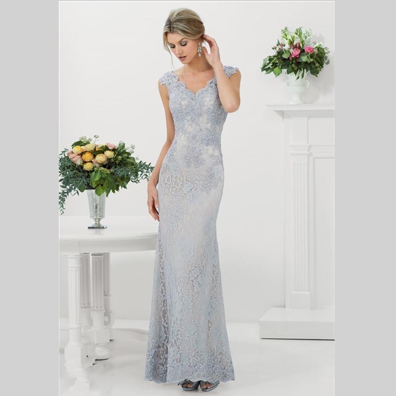 Buy 2015 new design sheath lace wedding for Sheath v neck wedding dress