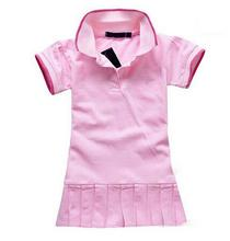 2016  New Summer Baby Girl Clothes Breathable Polo children/kids Dresses Tennis Sport tennis baby girl dress,CCL04068