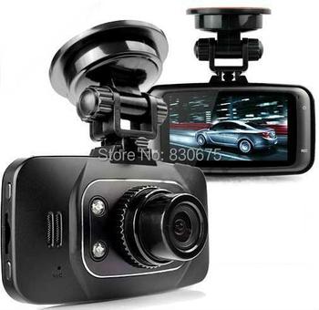 Full HD 1080 P автомобильный видеорегистратор GS8000L рекордер + g-сенсор + обнаружения движения + ночного видения + цифровой зум + запись цикла