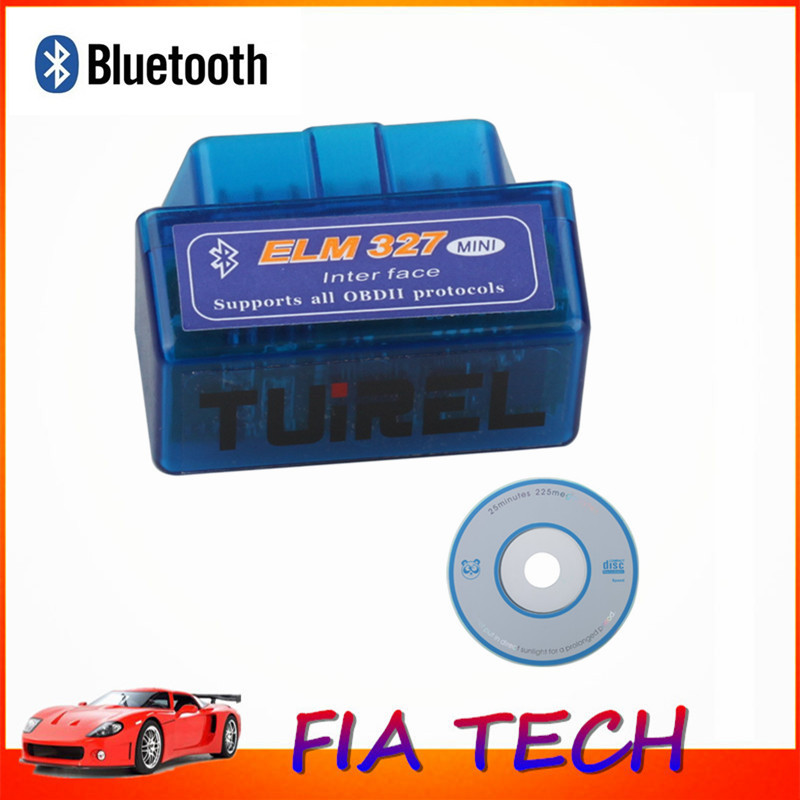 Super MINI ELM327 Wireless Bluetooth OBD/OBD2 Car Diagnostic Scan Tool Scanner Latest Version V2.1 For Android Torque/PC(China (Mainland))