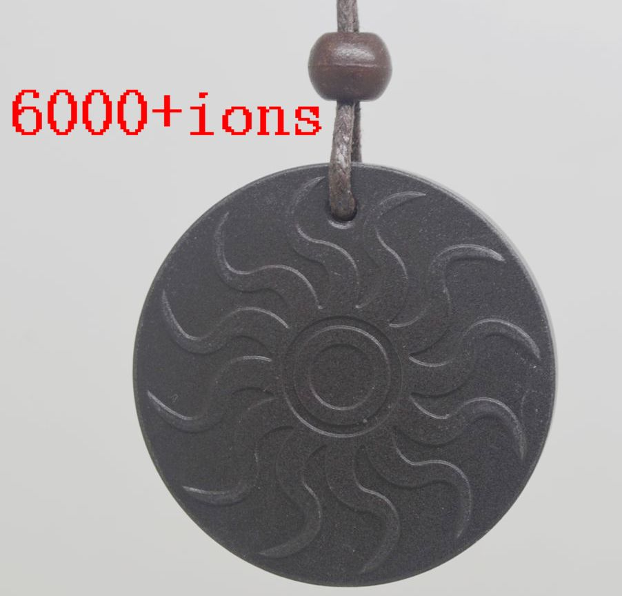 free shipping Quantum Scalar Energy Pendant 6000 ~ 7000 ions with Test Video with Card for each pendant(China (Mainland))