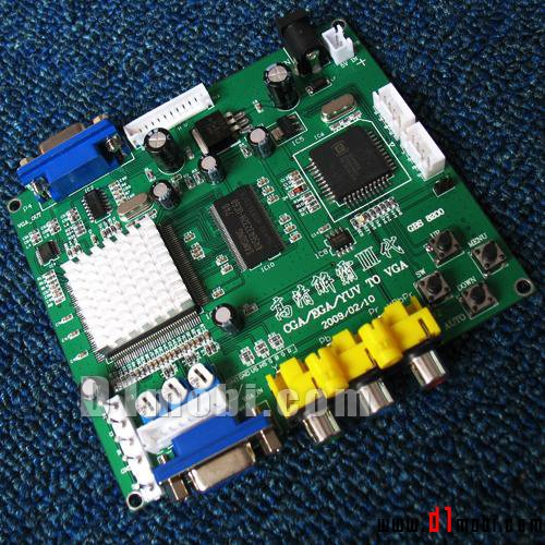 GBSGBS-8200 Cga Ega Rgb TO Vga game Converter(China (Mainland))