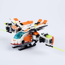 Plastic Plane toy Model Airplane Building Blocks sets Helicopter Minifigure DIY Bricks Classic Toys Gift