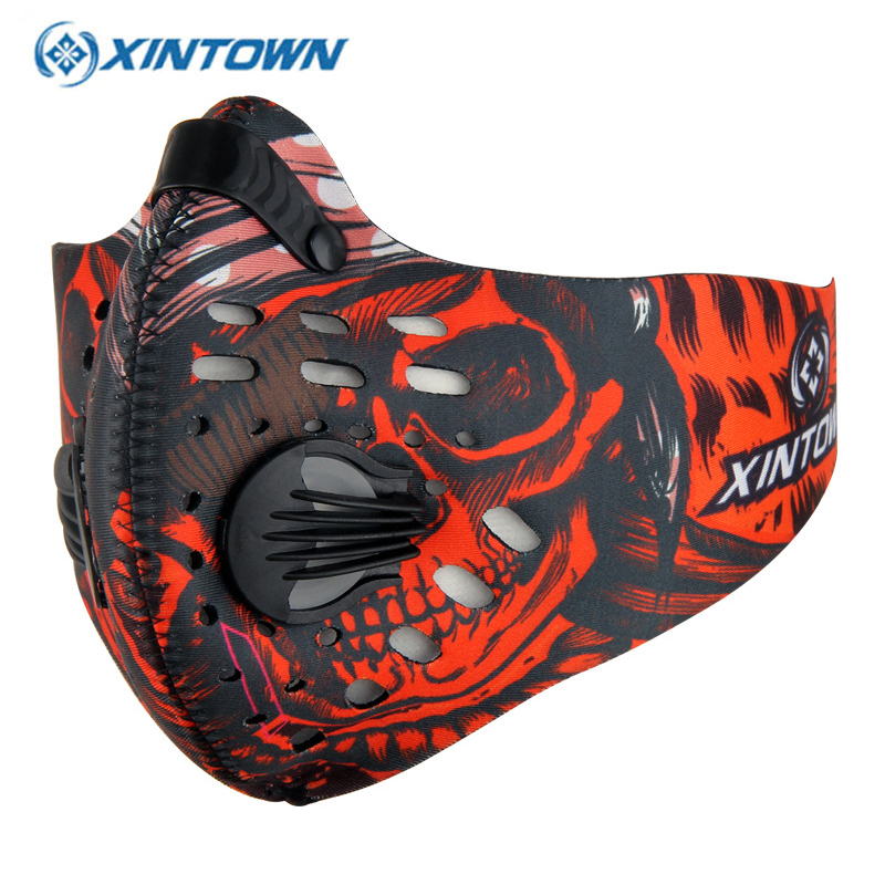 XINTOWN Outdoor Training Sports Cycling Dust Mask Bike Bicycle Masque Nylon Anti PM2.5 Running Sportswear Maske Bisiklet(China (Mainland))