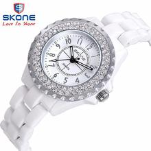 2016 brand design new fashion true ceramic women luxury clock ladies wristwatches Girl Dress watches relogios femininos relojes(China (Mainland))