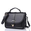All match Simple Small Bag Women PU Shoulder Bag Trendy Belt Ornament Handbag Designer Cheap Ladies