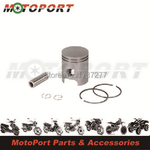 40mm For CPI Silver Plating Aluminum Motorcycle Piston Kit(China (Mainland))