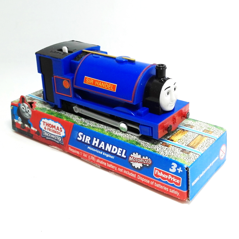 x118 Electric Thomas and friend Sir handel Trackmaster engine Motorized train with  child kids toys with packed packing<br><br>Aliexpress