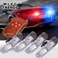 4pcs lot 2LED Ambulance Police light 3Mode controller Car Truck Light Flashing Firemen Lights DC 12V