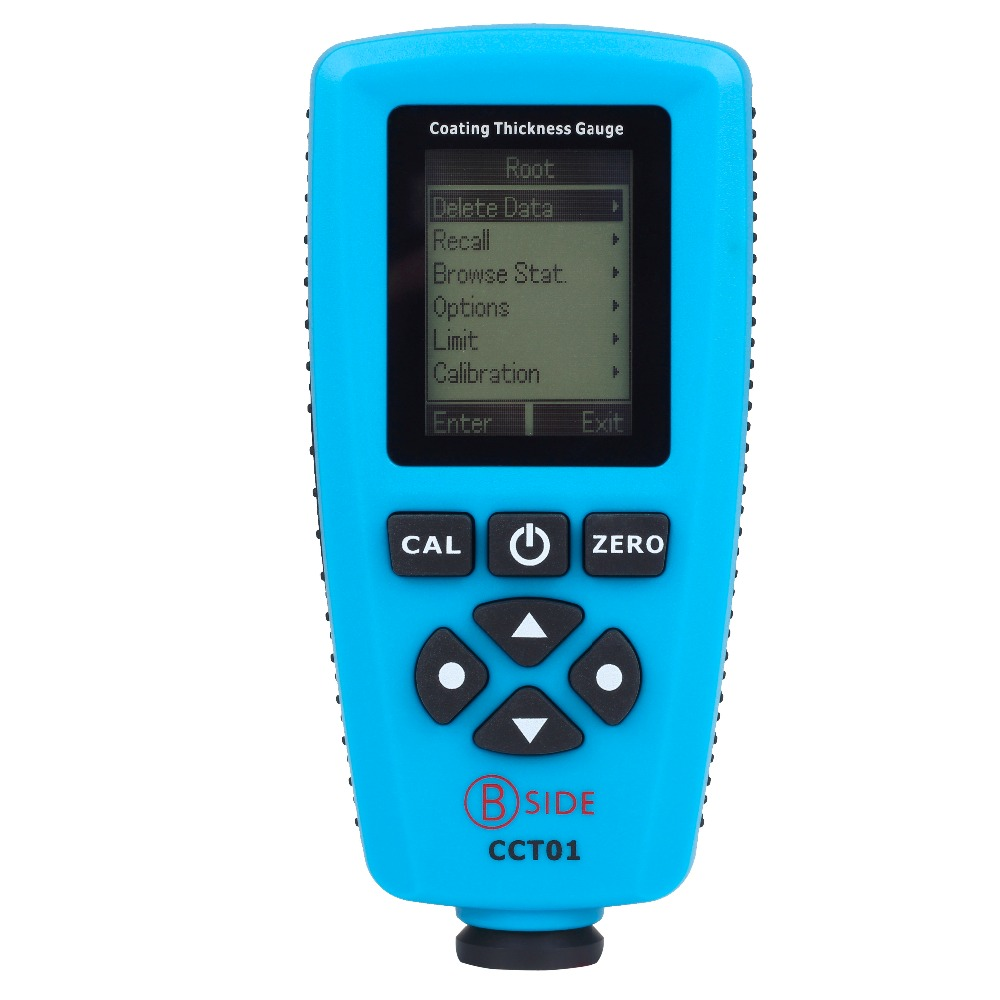 Bside CCT01 Digital Coating Thickness Gauge Meter Tester F/N Probe 0 to 1300um (0 to 51.2mils) USB Interface(China (Mainland))