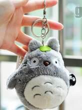 11Mini komşum totoro peluş oyuncak 2017 yeni kawaii anime totoro anahtarlık oyuncak dolması peluş totoro bebek oyuncak çocuklar için hediye(China)