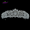 High Quality Crystal Noble Flower Bridal Tiaras Crowns Headbands Wedding Jewelry Hair Accessories Women Brand Free