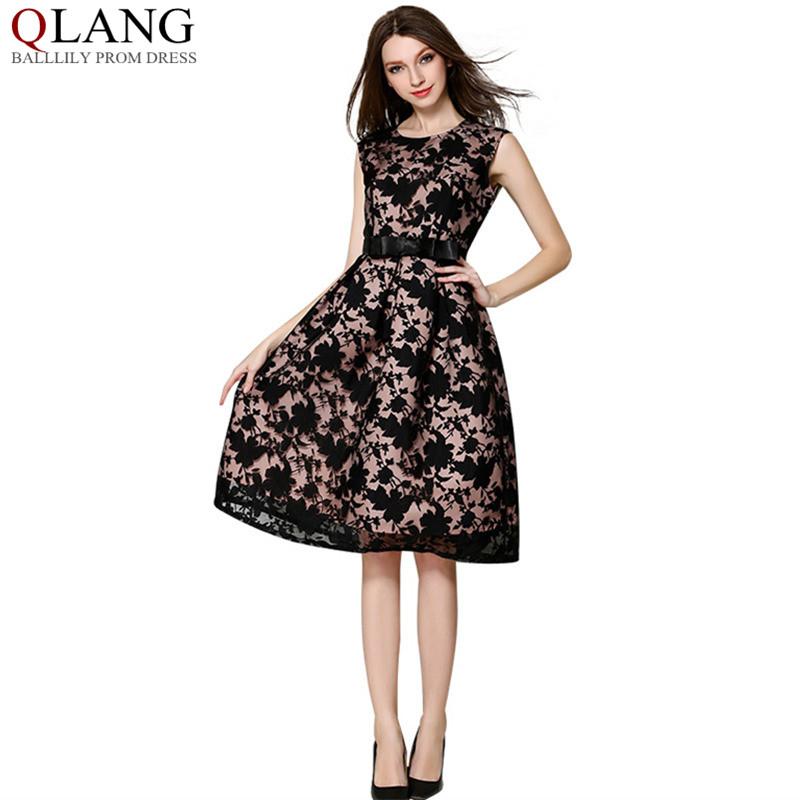 buy summer women elegant dress sleeveless. Black Bedroom Furniture Sets. Home Design Ideas