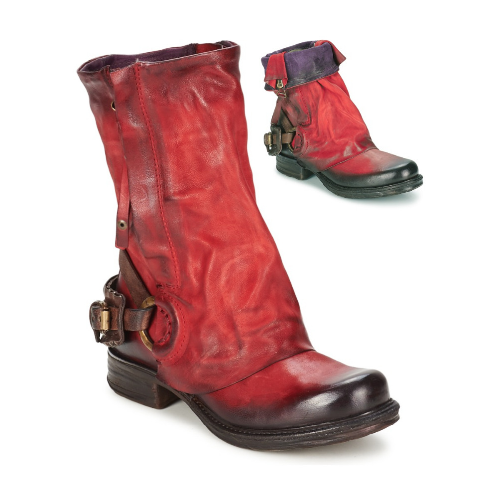 Popular Red Combat Boots Women-Buy Cheap Red Combat Boots Women ...