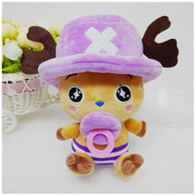 Kawaii 8″ One Piece Plush Toys Doll 4 Colors Cute Chopper Doll for Baby Kids Gift Anime Stuffed Toys Children Juguetes