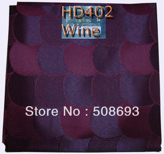 Free Shipping wine color net headtie african regular headties, High quality and lower price,hot headtie!5 pcs in a pack.(China (Mainland))