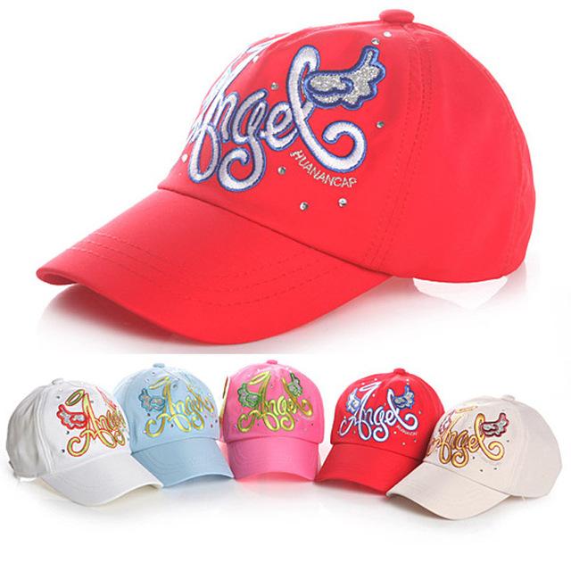 2013 100% Free Shipping the latest style novelty Spring&summer hats for Children cap Kids Baseball Caps patterns Snapbacks