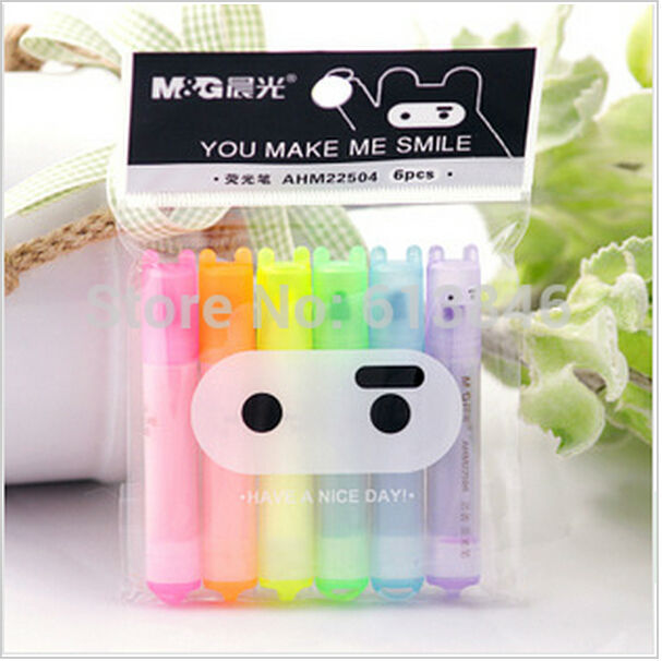 Ninja Rabbit fluorescent pen / highlighter pen/mark pen/Promotion Gift /Fashion Style /Free shipping(China (Mainland))