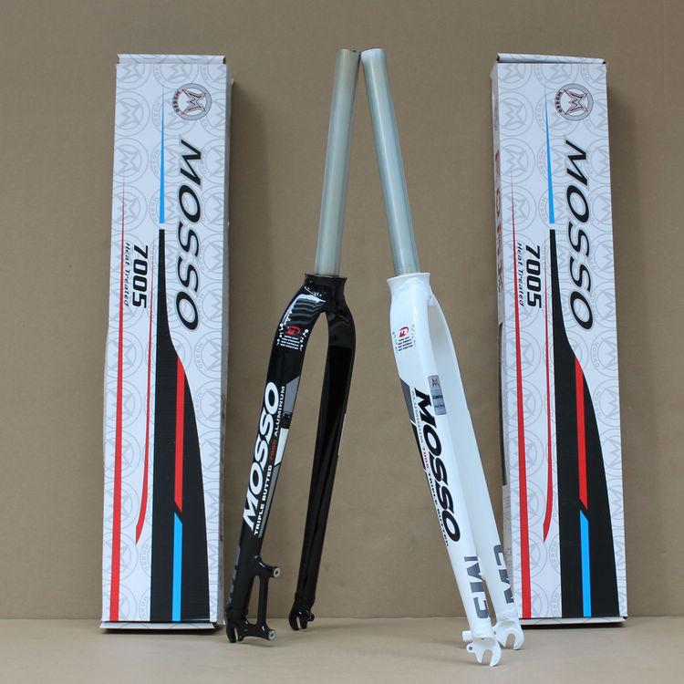 On Sale 2013 genuine MOSSO M3 hard fork 7005 aluminum alloy front fork mountain bike disc brake fork 26er 27.5er(China (Mainland))