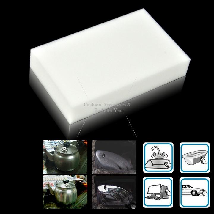 New Magic Sponge Eraser Melamine Cleaner Multi-functional Sponge for Cleaning Wash 10pcs 31(China (Mainland))