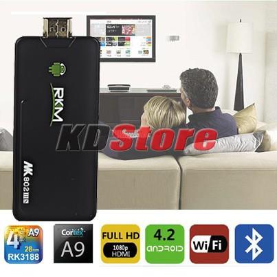 Free Shipping Rikomagic 5th MK802 IIIS Mini PC HD TV Box Android 4.1.1 Bluetooth Dual Core CPU 8GB (DW054) @CF(China (Mainland))