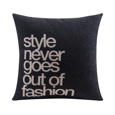 Cotton linen modern style and simple Cushion cover with customized size