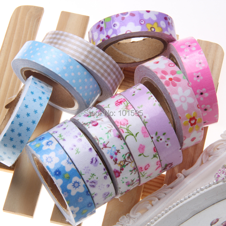 Гаджет  5pcs/lot High quality masking tape/ vintage tower lace flower adhesive tape / DIY sticker label/wholesale None Офисные и Школьные принадлежности