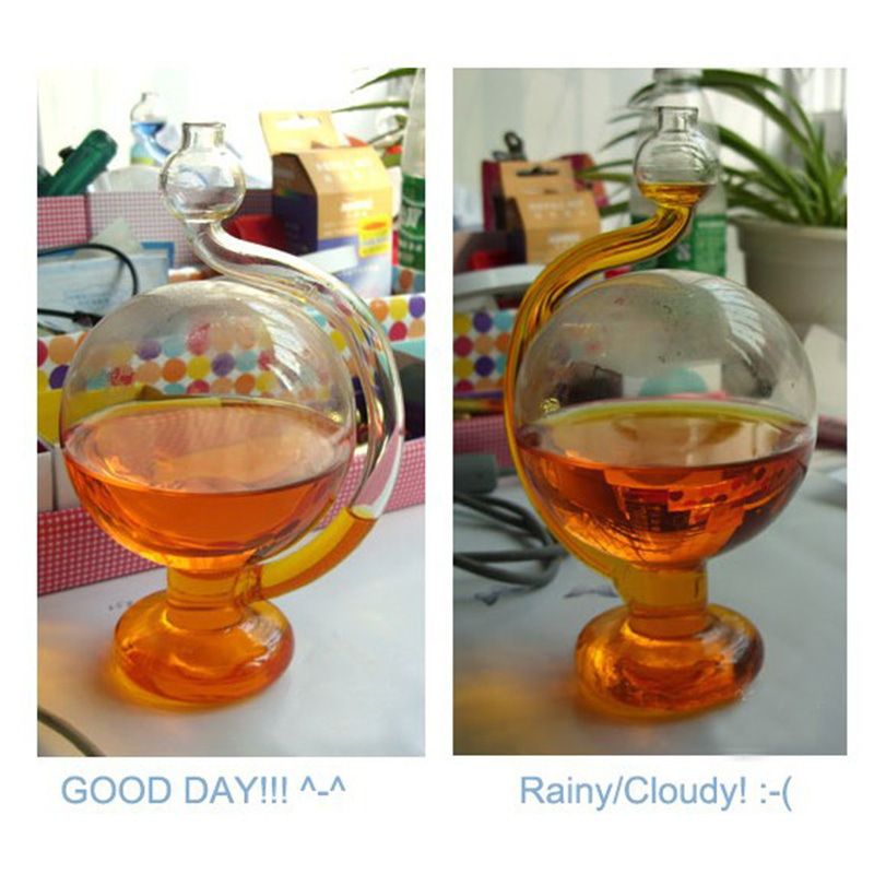 2015 Storm Glass Barometer+Weather Forecast Bottle Rain or shine bottle #69820(China (Mainland))